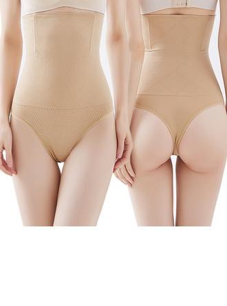 Kvinner Kvinnelige Chinlon/Nylon Pusteevne/Rumpeballe Heis Høy Midje Panty Shapers Formklær