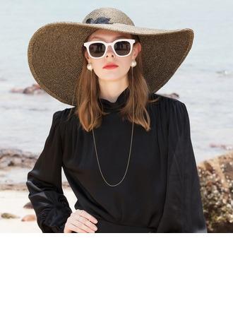 Ladies' Simple/Nice Polyester Beach/Sun Hats