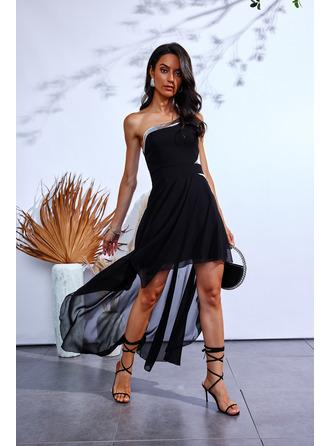 Print A-line Sleeveless Midi Casual Skater Dresses