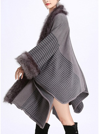 Cold weather Acrylic Poncho