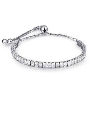 Fijne ketting Bruids armbanden Bolo armbanden met Kubieke Zirkonia -