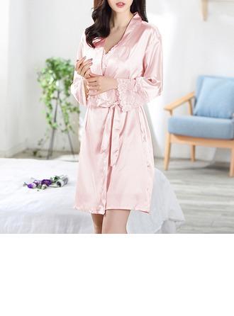 Seda artificiales Nupcial/Femenino Conjunto lencería