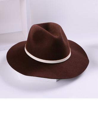 Señoras' Glamorosa/Simple/Niza Madera Disquete Sombrero