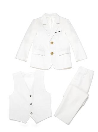 Jongens 3 stuks Elegant Pakken voor ringdragers /Page Boy Suits met Jas westen Broek
