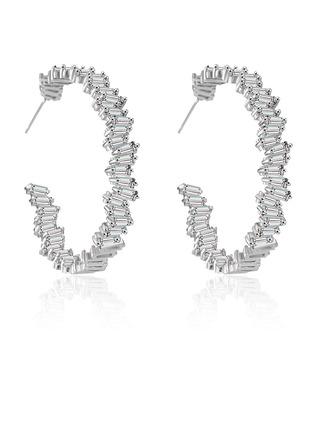 Damen Fee Kupfer/Zirkonia Zirkonia Ohrringe Ihr