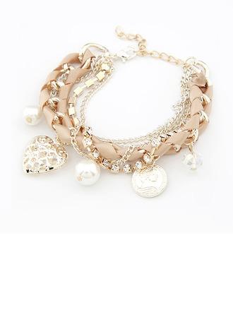 Basketwork Women's Fashion Bracelets