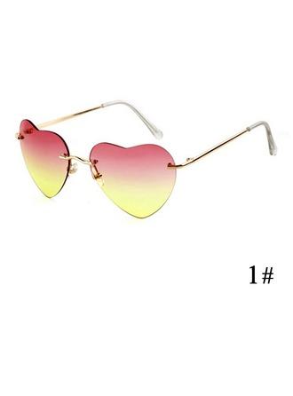 UV400 Chic Excursionniste Forme en cœurs Lunettes de soleil