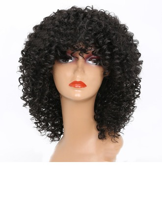 Curly Synthetic Hair Synthetic Wigs 330g