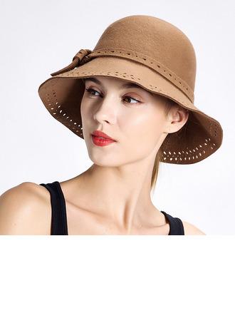 Dames Élégante/Simple Coton Chapeau melon / Chapeau cloche