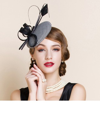 Signore Bella/Affascinante/Elegante/Occhi-cattura/Fascino Poliestere Fascinators
