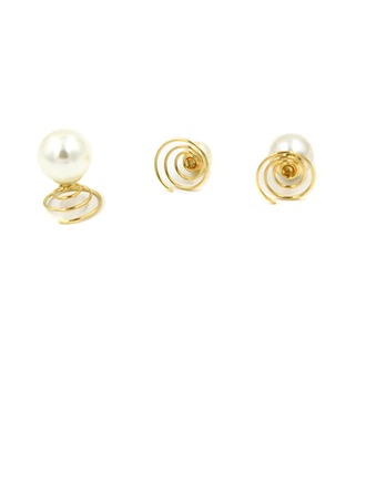 Lovely Alloy/Imitation Pearls Hairpins (Sold in single piece)