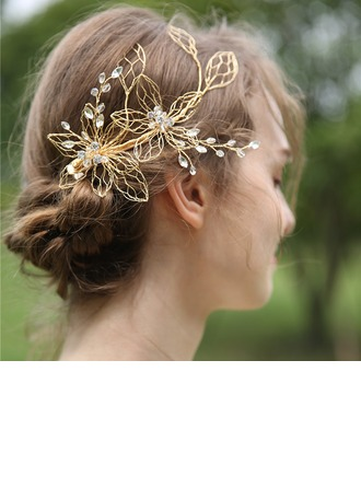 Ladies Beautiful Crystal/Rhinestone Hairpins With Rhinestone/Crystal (Sold in single piece)