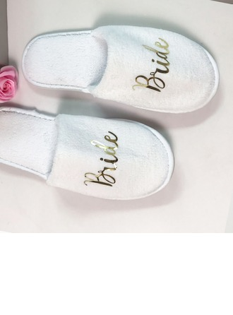 Bride Gifts - Beautiful Velvet Cloth Slippers