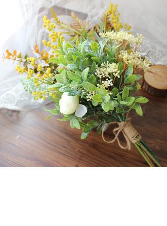 Hauskannäköinen Vapaamuotoinen Muovi Morsiamen kukkakimppuihin - Morsiamen kukkakimppuihin