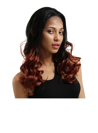 Body Wavy Synthetic Hair Lace Front Wigs