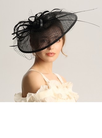 Dames Mode/Spécial/Glamour/Élégante/Unique/Fantaisie/Romantique/Style Vintage/Artistique Batiste/Fil net Chapeaux de type fascinator/Kentucky Derby Des Chapeaux