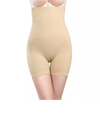 Women Feminine/Classic Cotton Breathability/Moisture Permeability/Butt Lift High Waist Shorts Shapewear