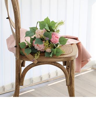 Charmia Pyöreä Simulaatio marjat/Silkki kukka/Muovi Morsiamen kukkakimppuihin -