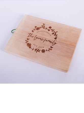Groom Gifts - Personalized Classic Elegant Wooden Cutting Board
