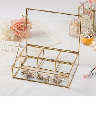 Bride Gaver - Glass Legering Smykkeskrin