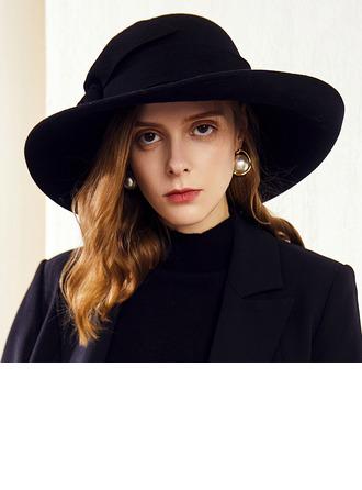 Señoras' Glamorosa/Elegante Madera Disquete Sombrero