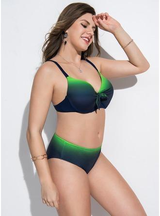 Elegant Chinlon De Bikinis Zwempak