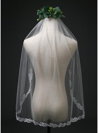 One-tier Elbow Bridal Veils