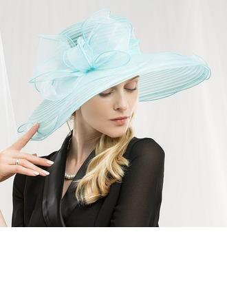 Sonar Naisten Muoti/Loistokkaat/Ainutlaatuinen/Herättävää/Korkea laatu/Taiteellinen Organzanauha Levyke hattu/Kentucky Derbyn hatut