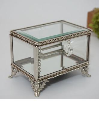 Cadeaux De Mariée - Style Vintage Verre Alliage Boîte à bijoux