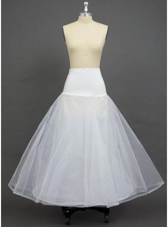 Kvinner Verrekening/Polyester/Spandex Kleur Vloer-length 2 Niveaus Onderrokken