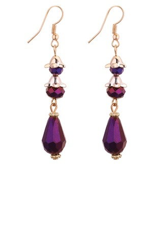 Mode koppar Glas Damer' Mode örhängen