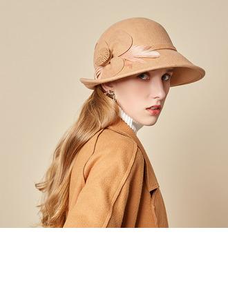 Sonar Naisten Loistokkaat/Charmia/Romanttinen Villa jossa Feather Keilaaja / Clochen hattu