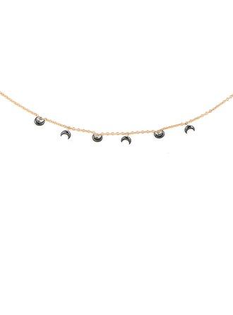 Silber Mond Charm Halskette Für Frauen Für die Freundin