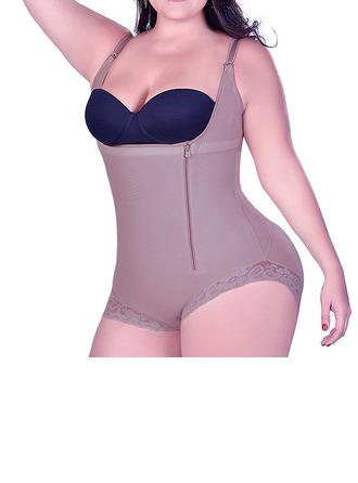 Naiset Naisellinen/Seksikäs/Classic/Yökerho/Tyylikäs/Charmia Elastaani/dacron body Shapewear