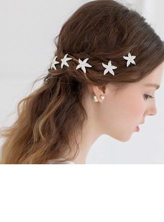 Gorgeous Rhinestone/Alloy Hairpins (Set of 3)