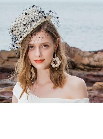 Dames Spécial/Glamour/Élégante/Accrocheur Fil net avec Tulle Chapeaux de type fascinator