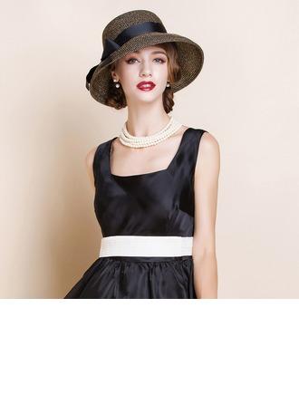 Ladies ' Móda Polyester Bowler / Cloche Hat/Čajové klobouky