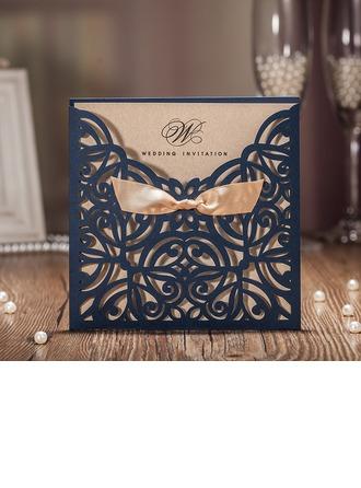 Personlig Klassisk stil/moderne stil Wrap & Pocket Invitasjonskort (Sett Av 50)
