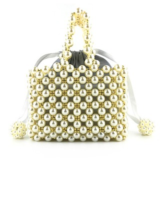 Elegante Perla Bolso Claqué/Mochila