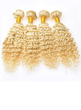 4A Non remy Deep Human Hair Human Hair Weave (Sold in a single piece) 50g