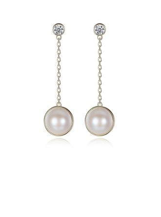 Ladies ' Elegant Pearl Pearl øreringe Hende/Venner/Brudepige