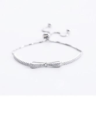 Anti-oxidatie Schakelketting Bruidsmeisje armbanden Bolo armbanden -