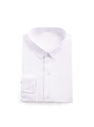 Drenge Solid Ringbærer-jakkesæt med Skjorte