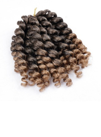 Kinky Curly Synthetic Hair Braids 20strands per pack 80g
