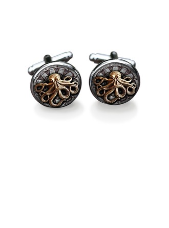 Classic Alloy Cufflinks (Set of 2)