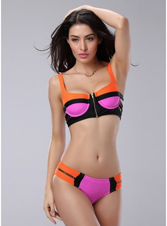 Beautiful Lumps Color Bikini