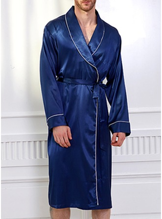 Brud Brudepike Polyester Satin robes