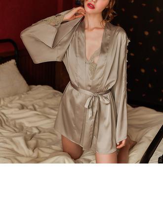 Polyesteri Classic Morsius/Naisellinen Yöpuvut/Sleepwear setit