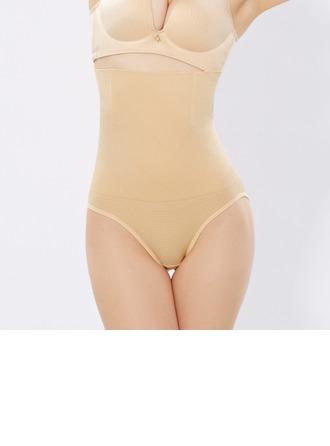Kvinder Classic Chinlon/Nylon Høj Talje Underbukser Body Shaper Trusser