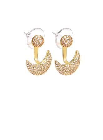 Dames Style Classique Alliage Cristal Boucles d'oreilles elle/Amis/la mariée